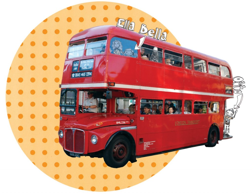 Ella Bellas eventyr London-bus