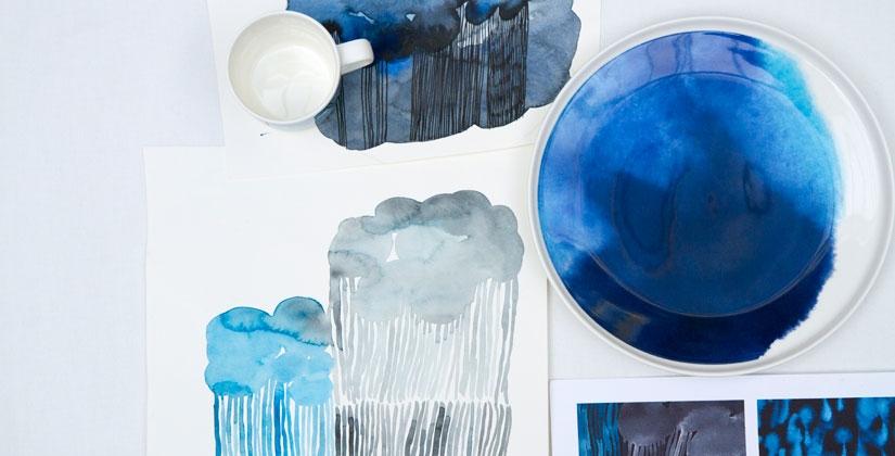 Marimekko_rain_akvarel_blue