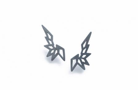 ZarahVoigt grafiske smykker øreringe