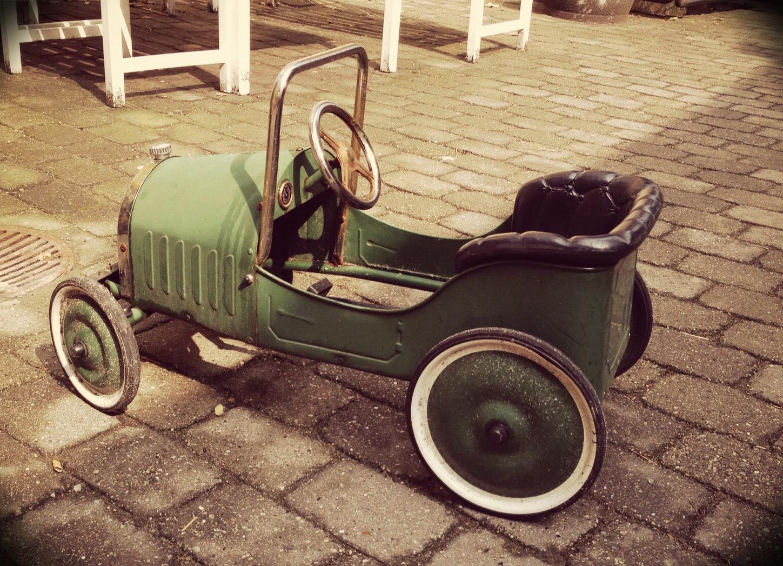 Værnedamsvej vintage go cart