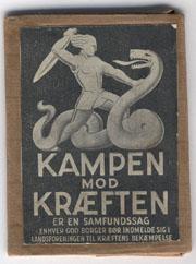 Logo Kræftens bekæmpelse det første