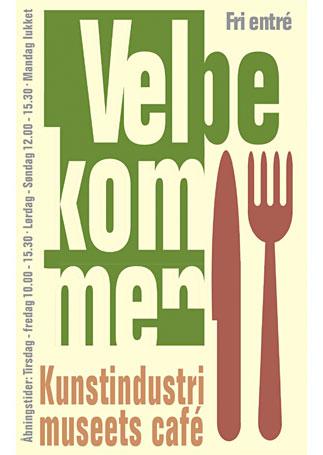 Cafeplakat-18-02-10PeterKjærAndersen Velbekomme vitage plakat