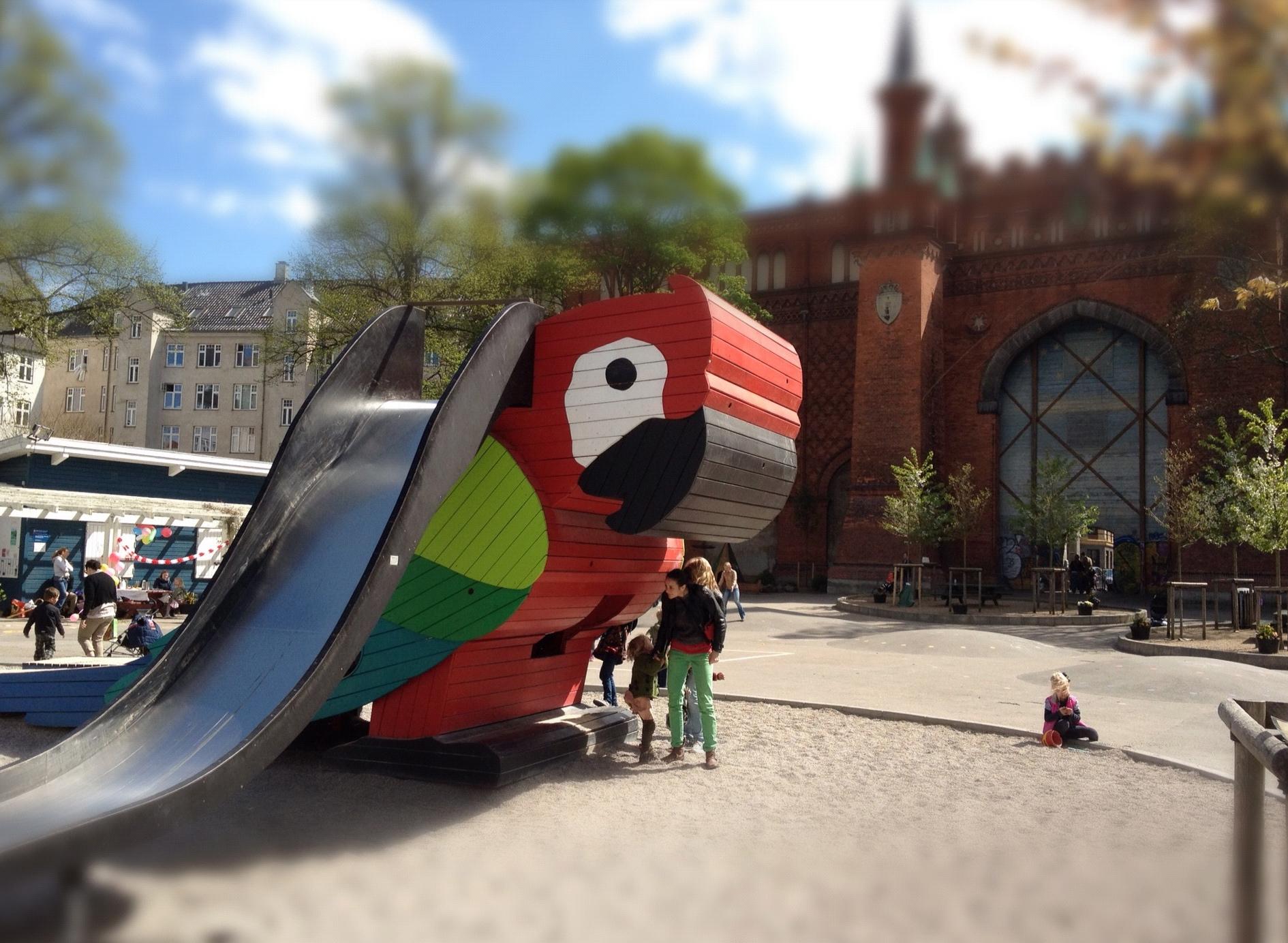 Parpegøjerutsjebane legeplads kreativ københavn