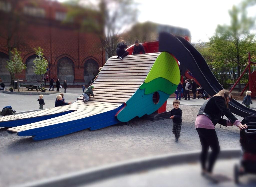Parpegøjerutsjebane legeplads kreativ københavn skydebanen