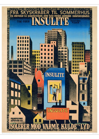 Ib-Andersen-Insulite2 vintage plakat