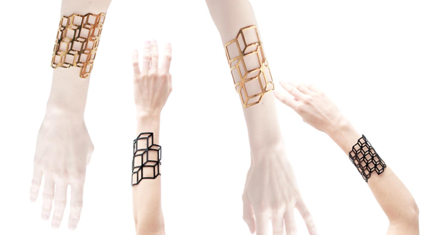 Pierre_hardy_3 grafiske armbånd abstrakte