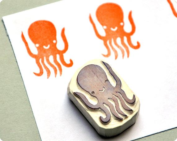 Stamp_DIY_octopus