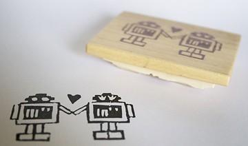 doodlebugdesign _DIY_stamp robot