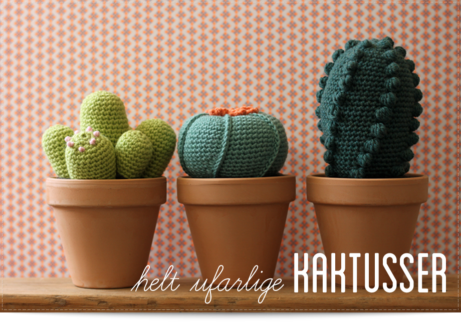 Helt ufarlige kaktusser DIY