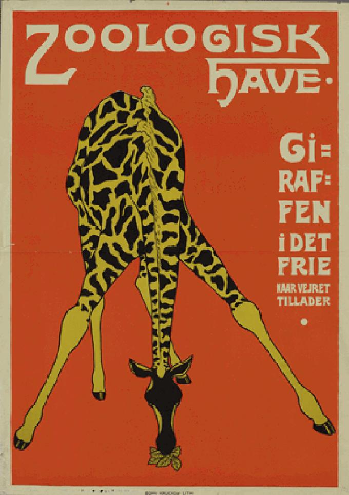 Zoo_plakat_giraf_genoptryk