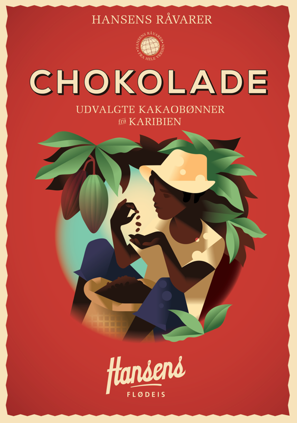 Hansen_is_plakat_chokolade