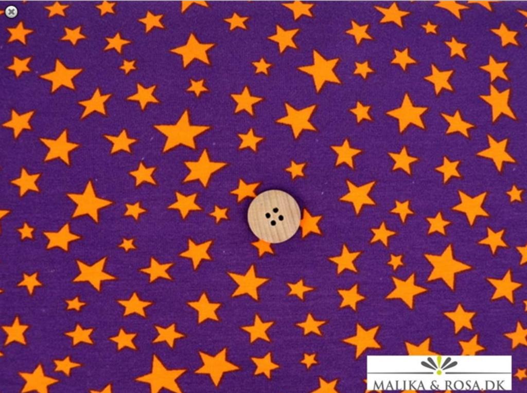 stof_lilla_orange_stjerner