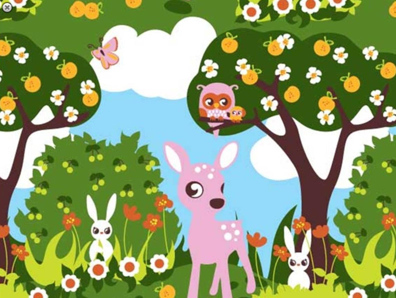 stof_retro bambi