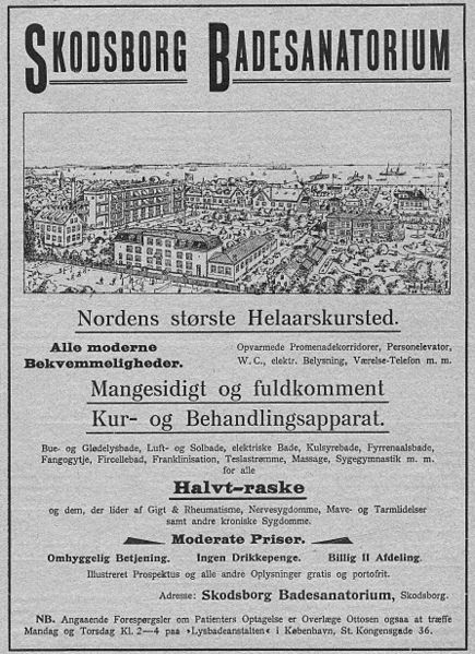 Skodsborg_badesanatorium_1910_fortiden