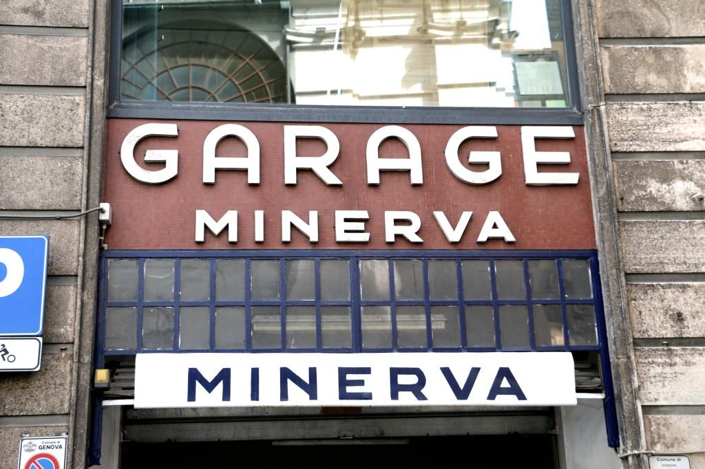 Typografi_italien_garage_genova